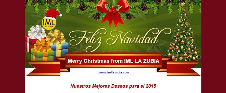 Merry Christmas from IML La Zubia
